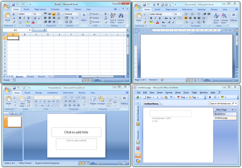 ��������� ������� �Microsoft Office 2o07 Enterprise ����� 275 MB