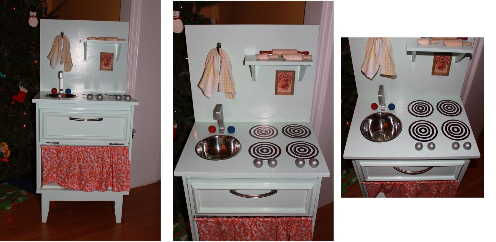 Homemade Play Kitchen Knitting Mama Diy Play Kitchen