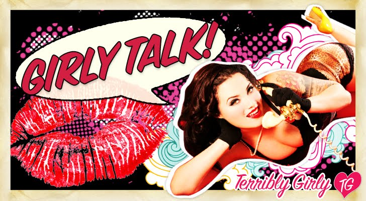 Girly Talk! from Terribly Girly Pin Up Photography