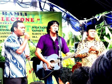 Berita Lampung Kesibukan Rocker Ikang Fawzi
