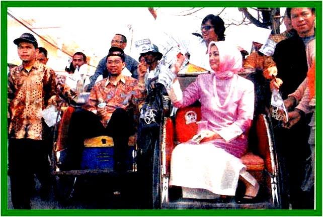 Ikang My Love Sangat Setia Mendampingi saat Pilkada Banten 2006