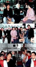 Bersama Anak Keluarga Bung Hatta Founding Father Indonesia 2005 ke Bandung (Pesawat Deraya Air)