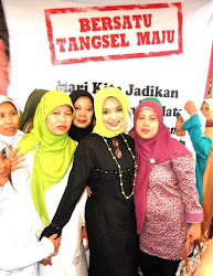 Dukungan Penuh Wahidin Halim Walikota Tangerang untuk Achmad Suwandhi dan Marissa Haque.