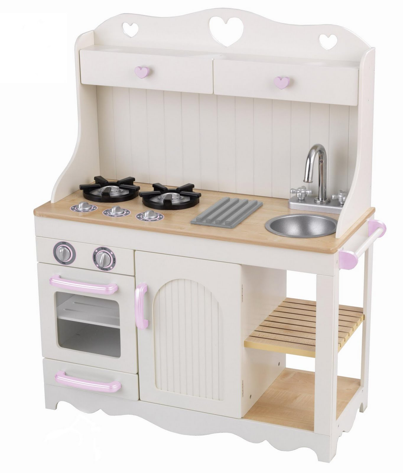 cool-girl-zone: Wooden Toy Kitchens for Little Girls and Boys