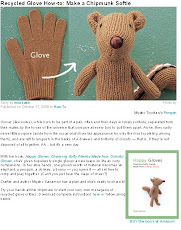 To make: Make a Chipmunk Softie