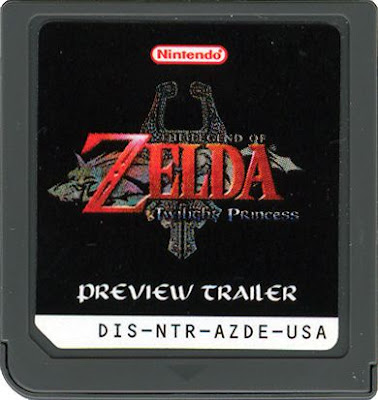 Zelda Twilight Pricess Nintendo DS Demo