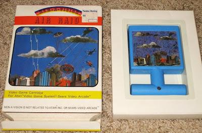Air Raid Game and Cover Art