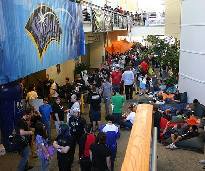 Crowds at PAX