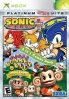 Sonic Mega Collection Plus & Super Monkey Ball Deluxe Xbox Cover Art