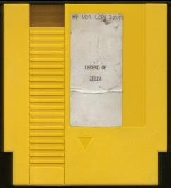 Zelda Prototype Cartridge