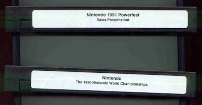 Nintendo Powerfest VHS Tapes