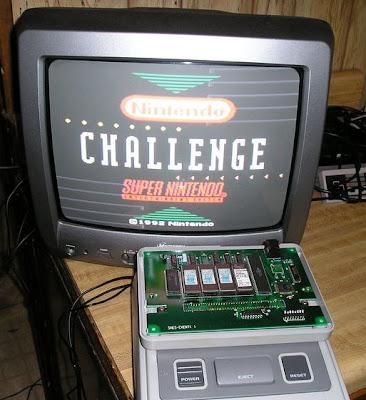 1992 Nintendo Campus Challenge System