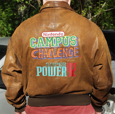 Jacket for 1992 Nintendo Campus Challenge