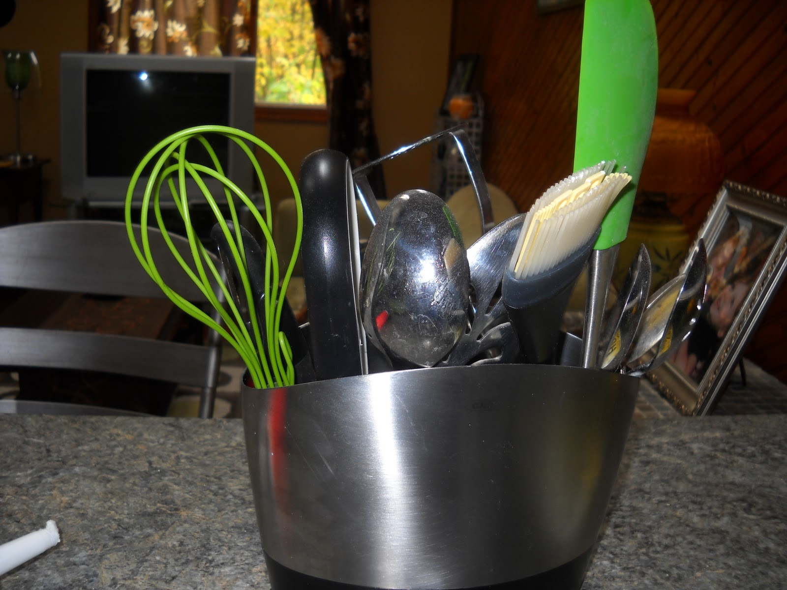 found some green utensils at Amazon, and got them on a Buy Three Get