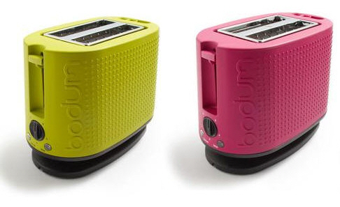 Matching Coffee Maker And Toaster : Colorful Toaster