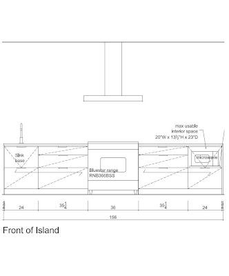 Kitchen Island Elevation bill + nina's dutchess digs: update and kitchen plans