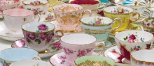 I collect teacups!
