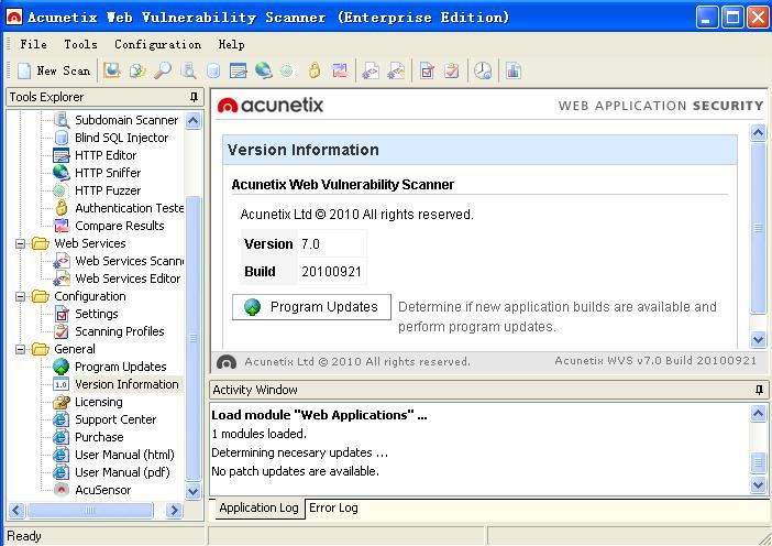 Acunetix Web Vulnerability Scanner Enterprise Edition 6.0