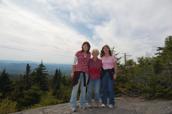Jessica, Mom and me
