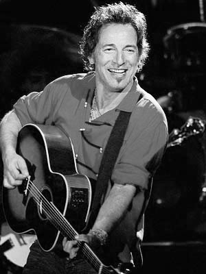 "Bruce Springsteen. Touch"" - Bruce Springsteen"