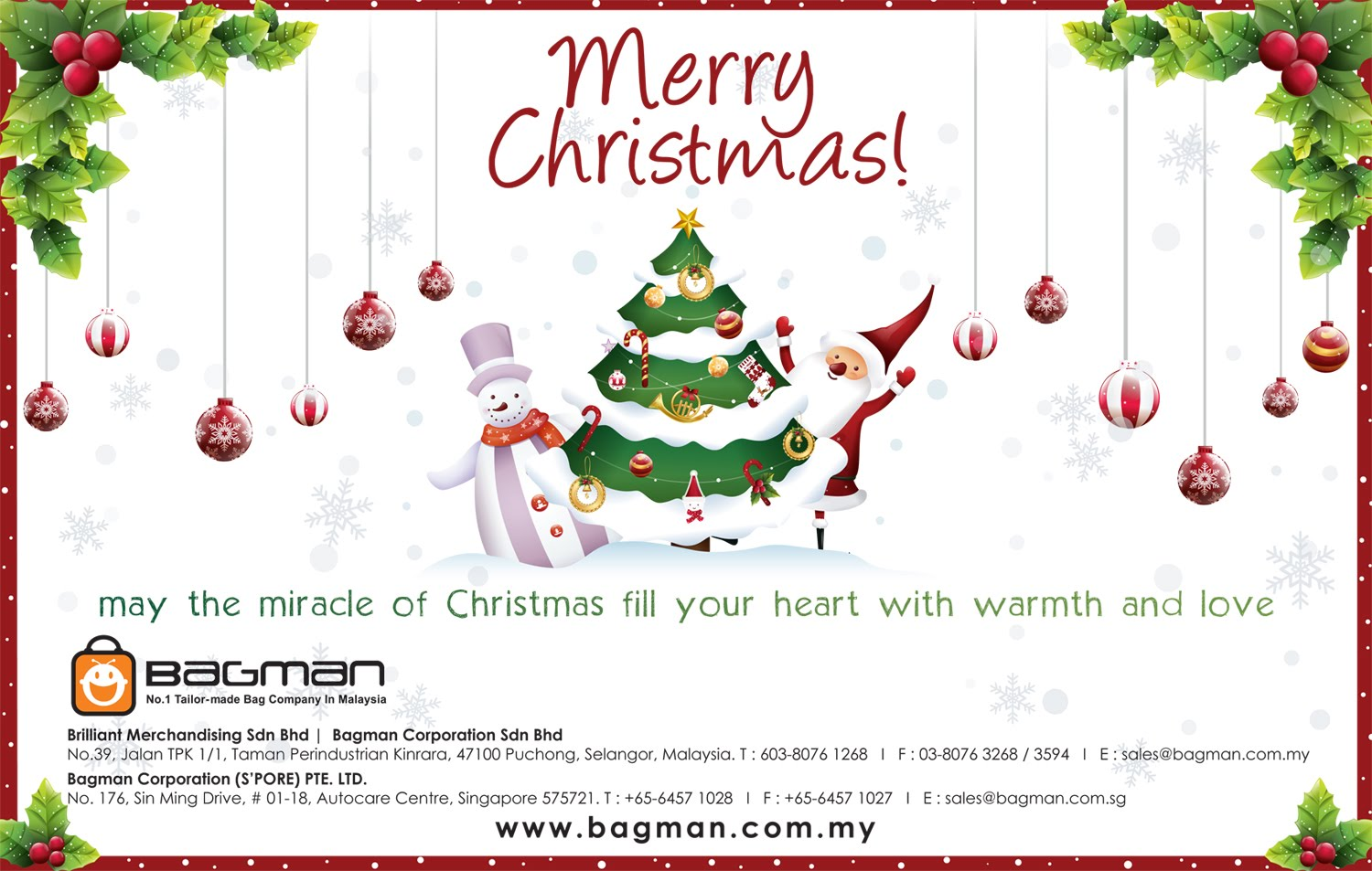 Jean Like Design Christmas Greeting Website Bannner