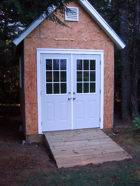 Build Shed Ramp Uneven Ground images
