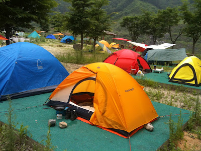 The summer months in Korea necessitate tents that offer ventilation for the heat and humidity water resistance for the monsoon rains and protection from ... & KOZ CAMPING: Survey Part 2: Luxury Digs