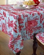 Love a Beautiful Tablecloth!