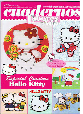 CUADERNO DE LABORES HELLO KITTY
