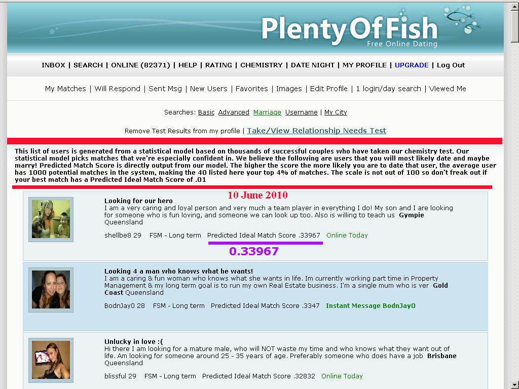 why plenty of fish is a waste of time