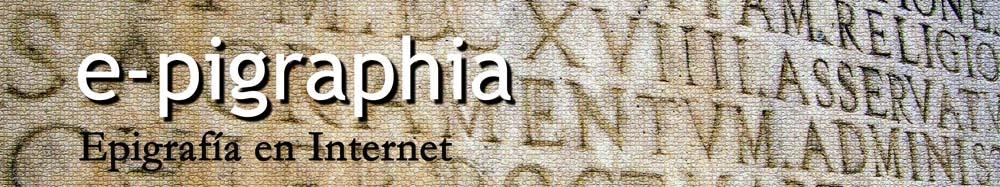 e-pigraphia. Epigrafía en internet