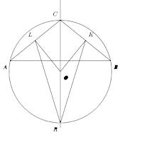 Triángulo ABC isósceles o equilátero