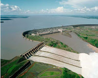 Itaipú Dam on Brazil's Paraná River