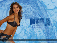 Neha Dupia The Hot In Water