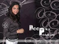 Deepika Padukone in Paint