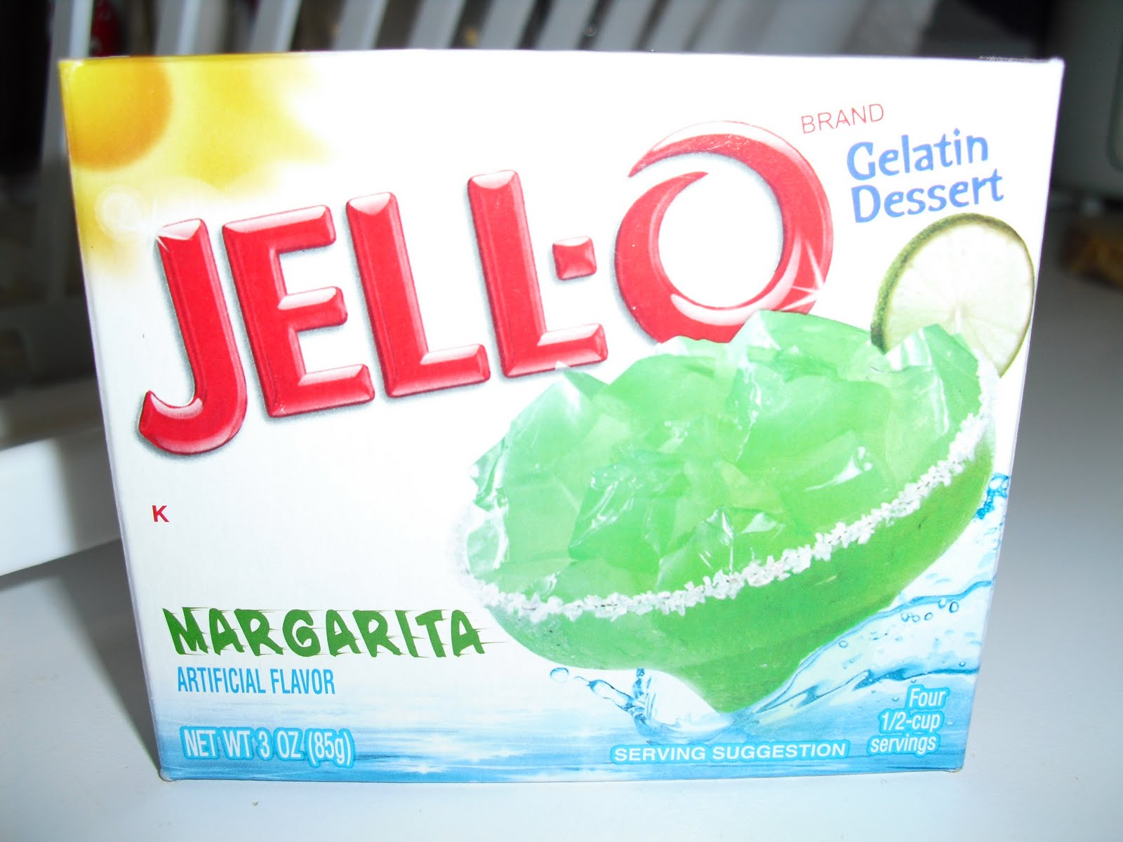 Margarita Jello Recipe — Dishmaps
