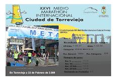 Diploma Medio Maratón de Torrevieja