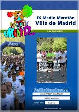 Diploma Medio Maratón de Madrid
