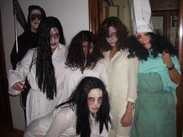 La casa del terror II. Algunos personajes