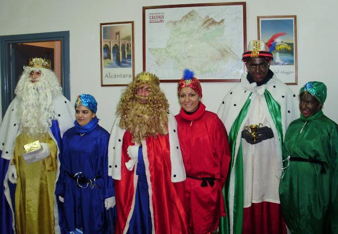 Los Reyes Magos en Piornal