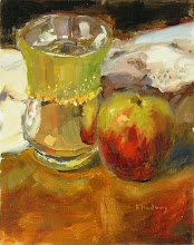'APPLE AND SHINY POT""