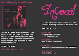 Invocal are a female acoustic band from Northampton that perform with cello, guitar, oboe and harmonious voices