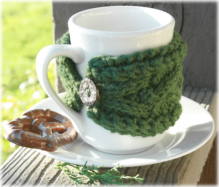 Keeping things simple a gift from the heart for Cup cozy pillow