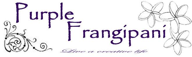 Purple Frangipani Creates