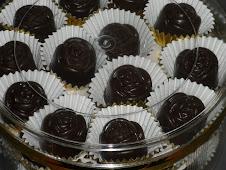Biskut Coklat Ros