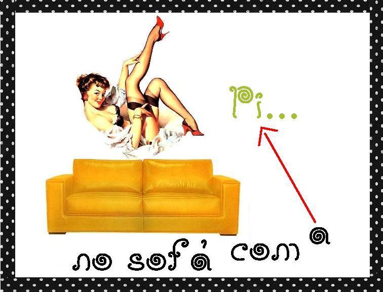 No Sofá com a Pi