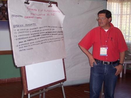 IV Encuentro de Sistematización, 07 de mayo de 2008