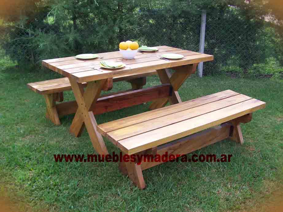 Muebles jard n plegables madera muebles de para jardin for Muebles de madera y jardin