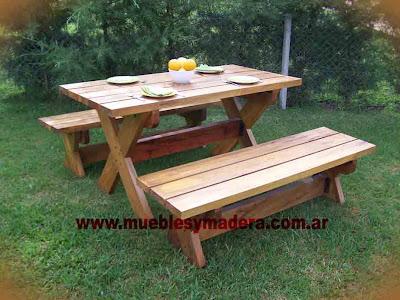 Kusagami blogger - Muebles de jardin en madera ...