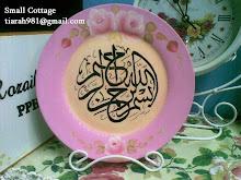 FA on ceramic plate